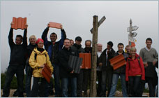 Braas - Journalists conquer Polish mountains